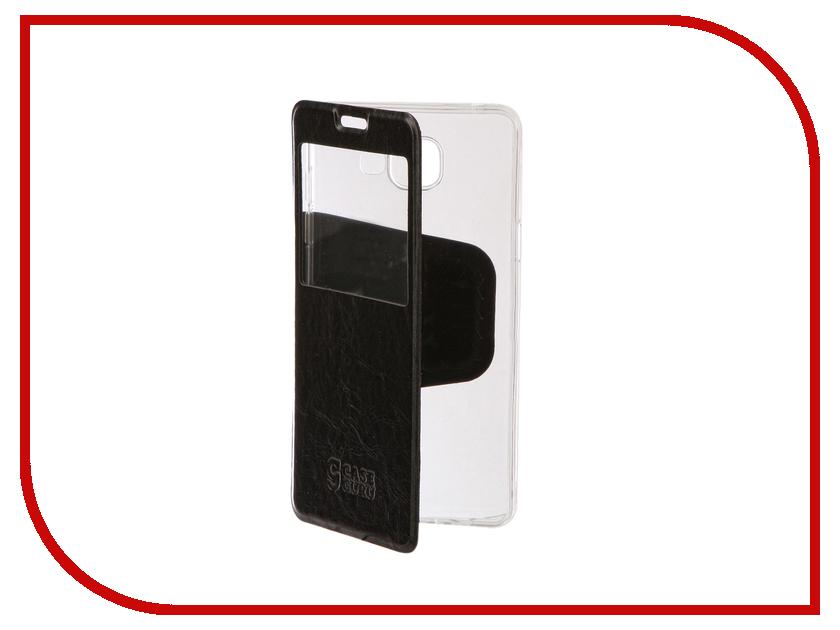 Аксессуар Чехол для Samsung Galaxy A5 2016 CaseGuru Ulitmate Case Glossy Black 95379