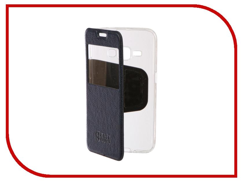 Аксессуар Чехол Samsung Galaxy J1 2016 CaseGuru Ulitmate Case Azure Blue 95536