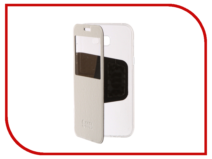 Аксессуар Чехол для Samsung Galaxy A7 2017 CaseGuru Ulitmate Case Glossy White 95402 аксессуар защитное стекло samsung g925f galaxy s6 edge caseguru 3d 0 33mm white