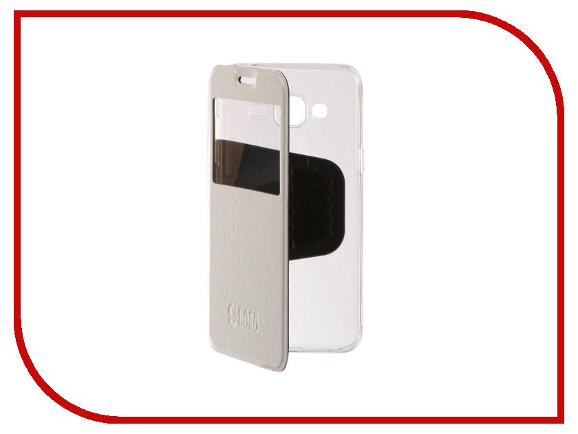 Аксессуар Чехол для Samsung Galaxy J3 2016 CaseGuru Ulitmate Case Glossy White 95404