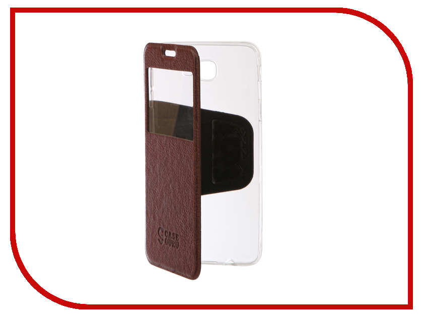все цены на  Аксессуар Чехол Samsung Galaxy J5 Prime CaseGuru Ulitmate Case Rich Brown 95521  онлайн