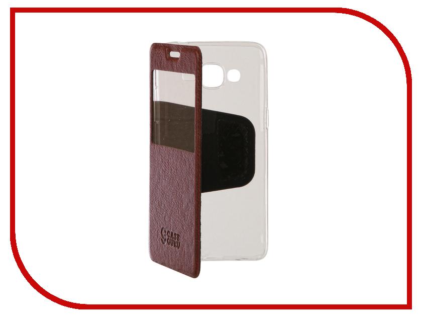 Аксессуар Чехол Samsung Galaxy J2 Prime CaseGuru Ulitmate Case Rich Brown 95520