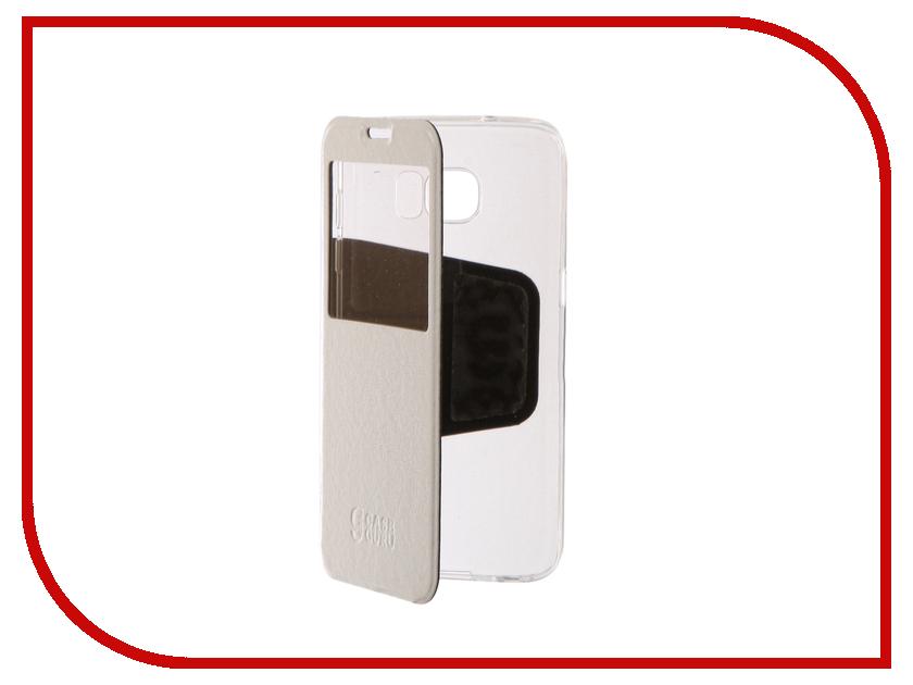 Аксессуар Чехол для Samsung Galaxy S7 Edge CaseGuru Ulitmate Case Glossy White 95409