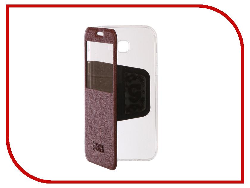 Аксессуар Чехол Samsung Galaxy A7 2017 CaseGuru Ulitmate Case Rich Brown 95516