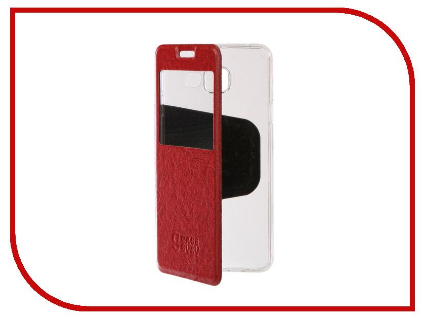 Аксессуар Чехол для Samsung Galaxy A3 2016 CaseGuru Ulitmate Case Glossy Red 95416 аксессуар чехол накладка samsung galaxy a3 2016 caseguru liquid 87798