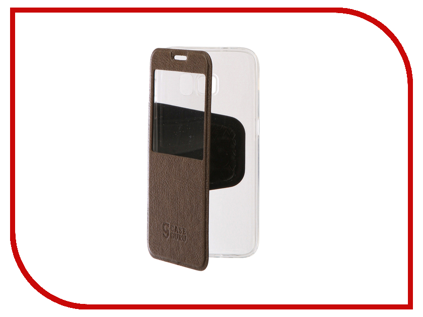 Аксессуар Чехол Samsung Galaxy S7 CaseGuru Ulitmate Case Light Brown 95503