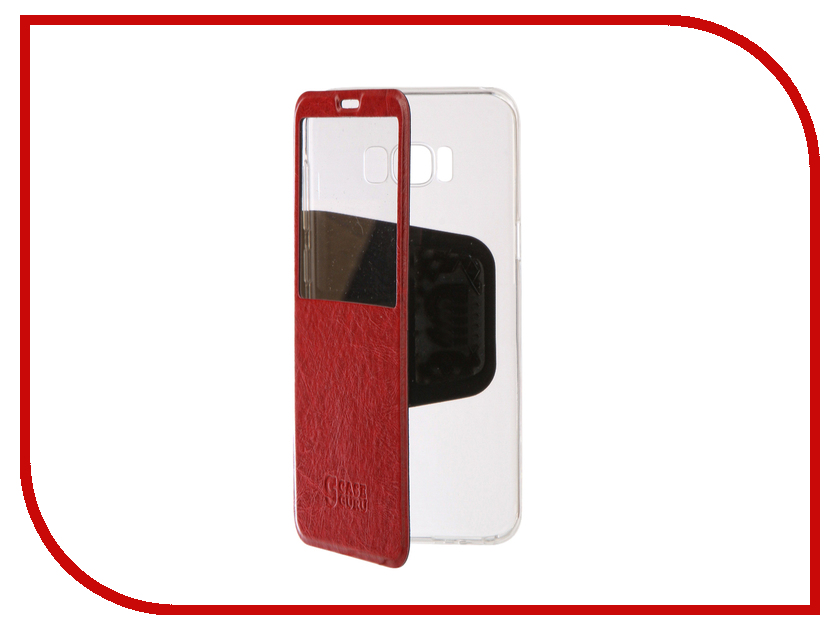 Аксессуар Чехол для Samsung Galaxy S8 Plus CaseGuru Ulitmate Case Glossy Red 95430 аксессуар чехол для samsung galaxy j5 2016 caseguru ulitmate case glossy white 95405