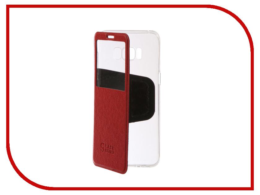 Аксессуар Чехол Samsung Galaxy S8 CaseGuru Ulitmate Case Ruby Red 95486