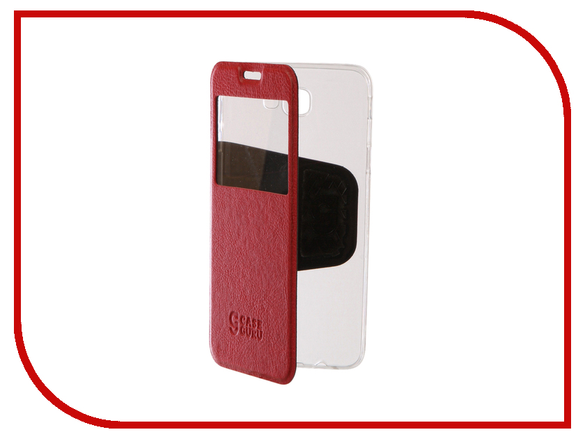Аксессуар Чехол Samsung Galaxy J5 Prime CaseGuru Ulitmate Case Ruby Red 95483 защитное стекло для samsung galaxy j5 prime sm g570f caseguru на весь экран с белой рамкой