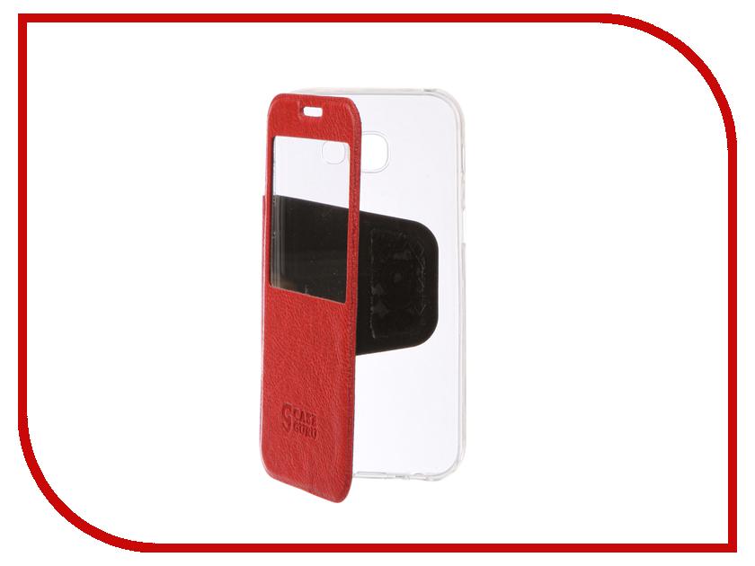 Аксессуар Чехол Samsung Galaxy A5 2017 CaseGuru Ulitmate Case Ruby Red 95477