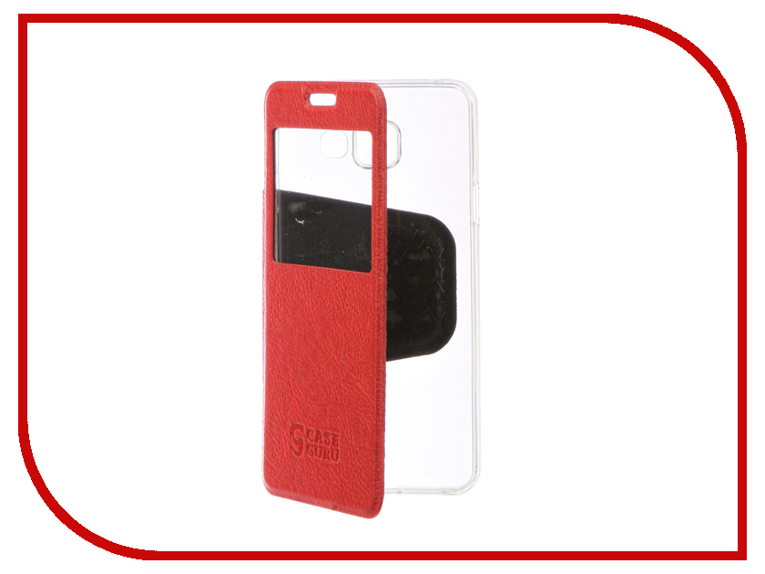Аксессуар Чехол Samsung Galaxy A3 2016 CaseGuru Ulitmate Case Ruby Red 95473<br>