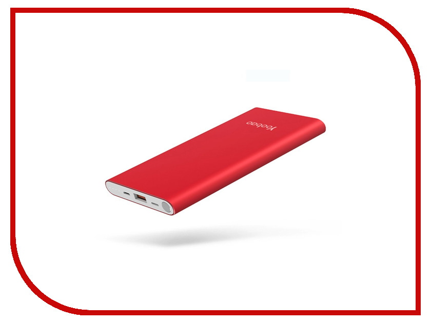 Аккумулятор Yoobao Power Bank PL10 Air 10000mAh Red