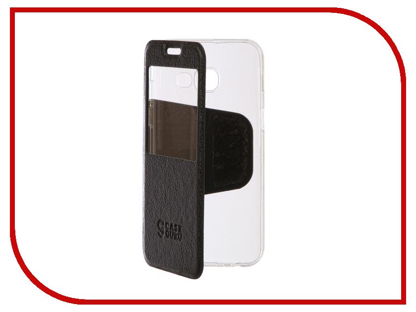 Аксессуар Чехол Samsung Galaxy A3 2017 CaseGuru Ulitmate Case Dark Black 95457 аксессуар защитное стекло samsung galaxy a3 2017 solomon full cover black