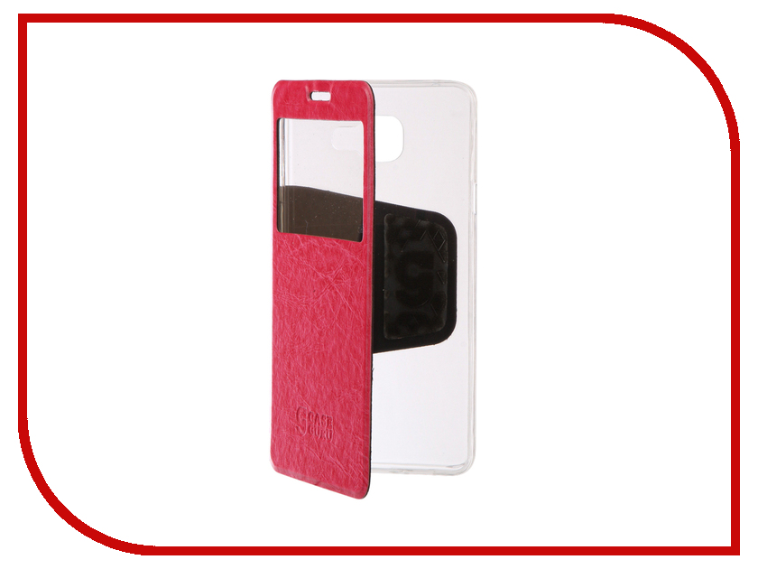 Аксессуар Чехол Samsung Galaxy A7 2016 CaseGuru Ulitmate Case Glossy Pink 95437