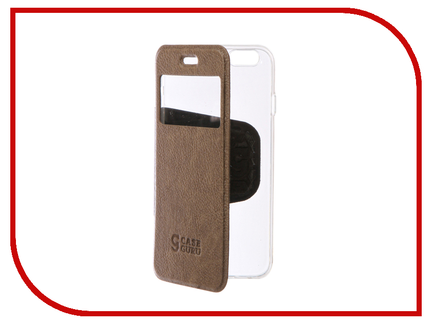 Аксессуар Чехол CaseGuru Ulitmate Case для APPLE iPhone 6 / 6S Light Brown 95490