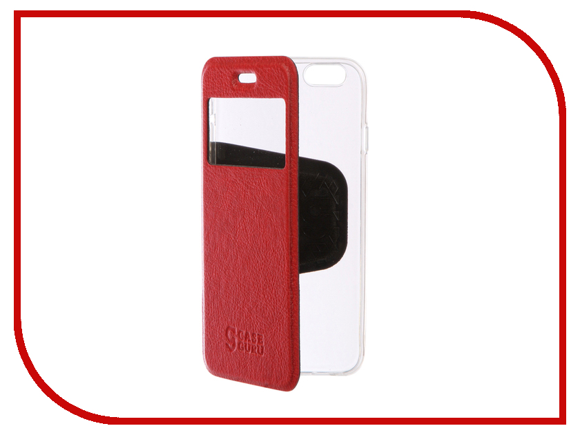 Аксессуар Чехол CaseGuru Ulitmate Case для APPLE iPhone 6/6S Ruby Red 95471