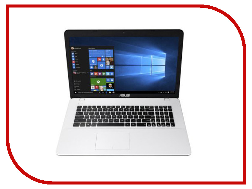 Ноутбук ASUS X751LJ 90NB08D2-M06810 (Intel Core i3-5005U 2.0 GHz/4096Mb/1000Gb/DVD-RW/nVidia GeForce 920M 2048Mb/Wi-Fi/Cam/17.3/1366x768/Windows 10 64-bit) ноутбук asus k751sj 90nb07s1 m00320 intel pentium n3700 1 6 ghz 4096mb 1000gb dvd rw nvidia geforce 920m 1024mb wi fi bluetooth cam 17 3 1600x900 dos