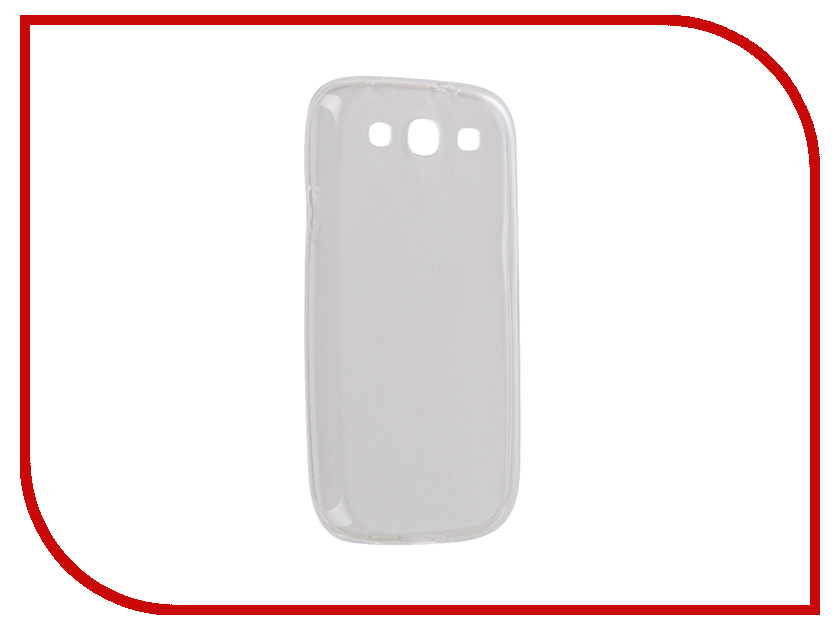 Аксессуар Чехол Samsung i9300 Galaxy S3 Snoogy Creative Silicone 0.3mm White