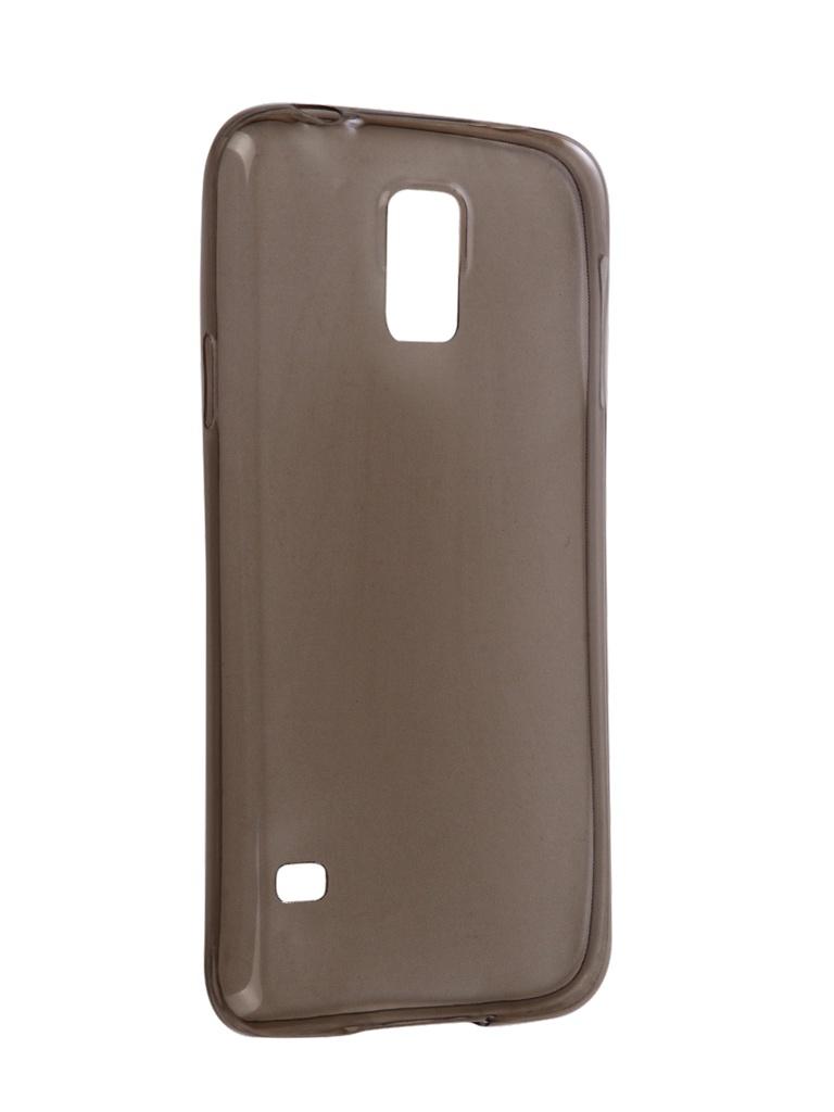 Аксессуар Чехол Snoogy для Samsung i9600 Galaxy S5 Creative Silicone 0.3mm Black настенные часы art time ntr 3812