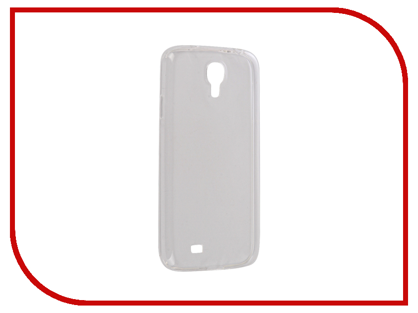 купить Аксессуар Чехол Samsung i9500 Galaxy S4 Snoogy Creative Silicone 0.3mm White недорого