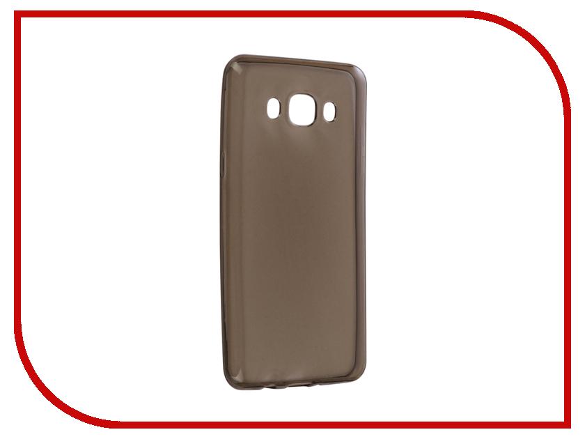 Аксессуар Чехол для Samsung Galaxy J5 J510 2016 Snoogy Creative Silicone 0.3mm Black аксессуар чехол samsung j3 2017 j330f zibelino clear view black zcv sam j330 blk