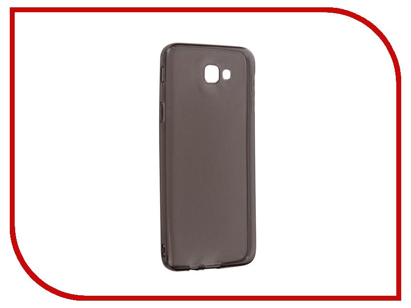 Аксессуар Чехол Samsung Galaxy J5 Prime Snoogy Creative Silicone 0.3mm Black аксессуар чехол samsung galaxy a7 2017 with love moscow silicone russia 5090