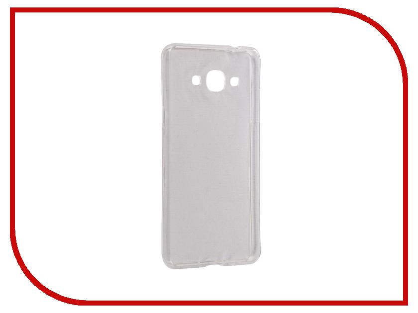 Аксессуар Чехол Samsung Galaxy J3 Snoogy Creative Silicone 0.3mm White аксессуар чехол xiaomi redmi 4 pro 4s snoogy creative silicone 0 3mm white