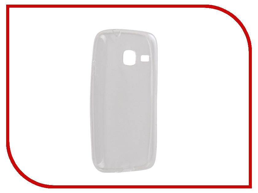 Аксессуар Чехол Samsung Galaxy J1 mini J105 2016 Snoogy Creative Silicone 0.3mm White