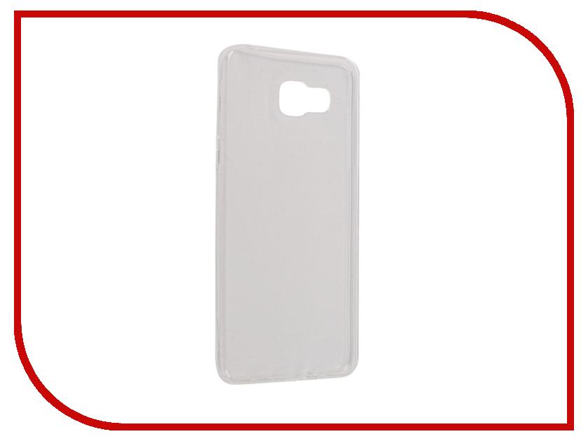 Аксессуар Чехол Samsung Galaxy A5 A510F 2016 Snoogy Creative Silicone 0.3mm White Sn-slk-SM-a5/2016/-wht аксессуар защитное стекло samsung galaxy a5 2016 sm a510f solomon ultra glass