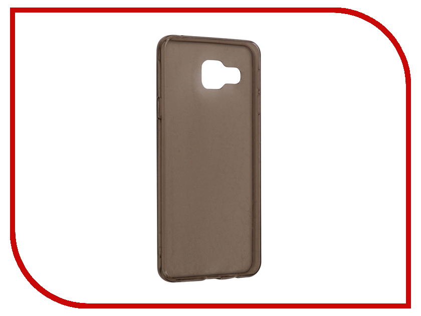 Аксессуар Чехол Samsung Galaxy A3 A310F 2016 Snoogy Creative Silicone 0.3mm Black