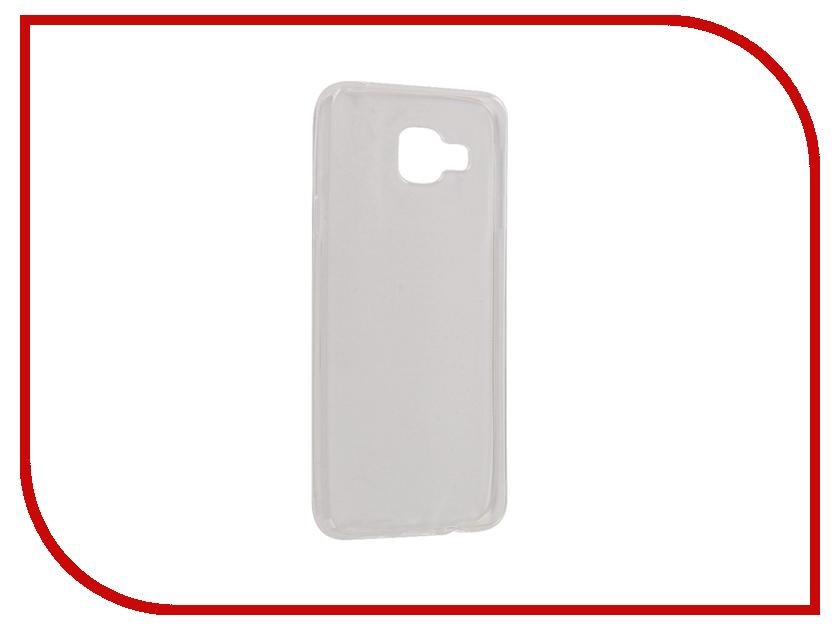 Аксессуар Чехол Samsung Galaxy A3 A310F 2016 Snoogy Creative Silicone 0.3mm White