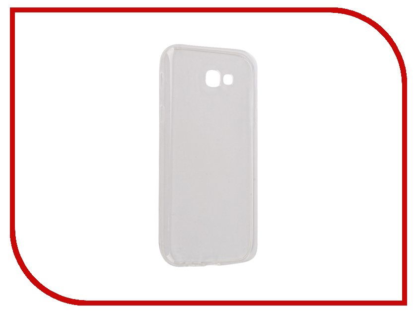 Аксессуар Чехол Samsung Galaxy A7 2017 Snoogy Creative Silicone 0.3mm White