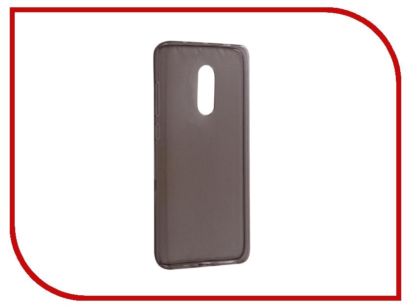 Аксессуар Чехол для Xiaomi Redmi Note 4 Snoogy Creative Silicone 0.3mm Black wl007 creative musical note style silicone mug cup cover lid green