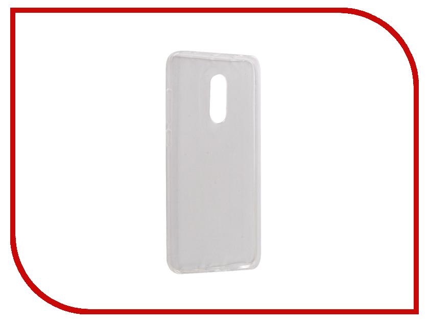 Аксессуар Чехол для Xiaomi Redmi Note 4 Snoogy Creative Silicone 0.3mm White wl007 creative musical note style silicone mug cup cover lid green