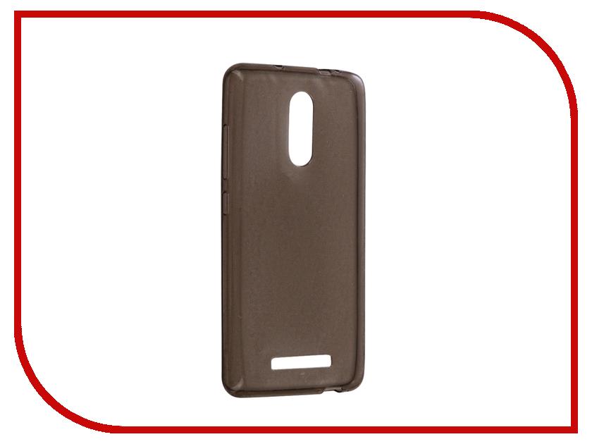 Аксессуар Чехол Xiaomi Redmi Note 3 Snoogy Creative Silicone 0.3mm Black телефон xiaomi redmi 3 black