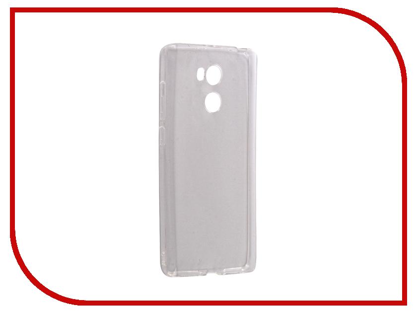 Аксессуар Чехол Xiaomi Redmi 4 Pro 4S Snoogy Creative Silicone 0.3mm White xiaomi redmi 4 pro 3 32 купить