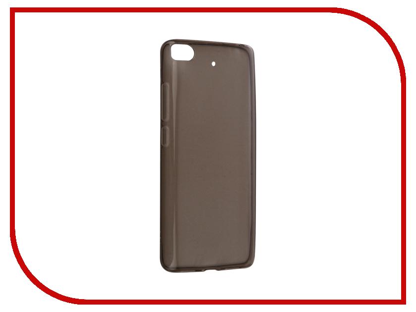 Аксессуар Чехол Xiaomi Mi5S Snoogy Creative Silicone 0.3mm Black аксессуар чехол xiaomi redmi 4 pro 4s snoogy creative silicone 0 3mm white