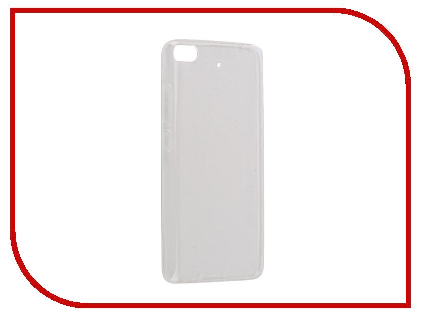 Аксессуар Чехол Xiaomi Mi5S Snoogy Creative Silicone 0.3mm White xiaomi mi 5 mi 5 32 gb white