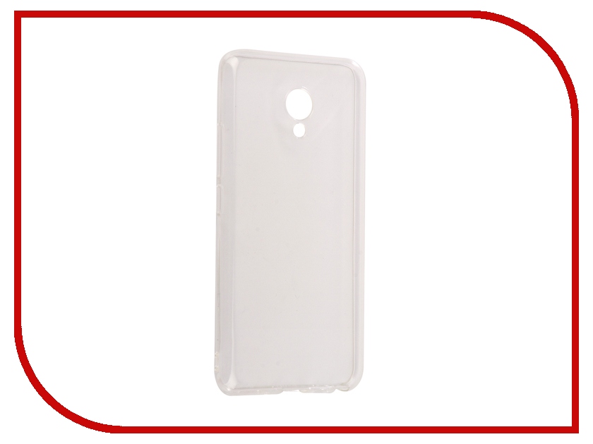 Аксессуар Чехол Meizu M5 mini Snoogy Creative Silicone 0.3mm White гарнитура meizu ep 51 white