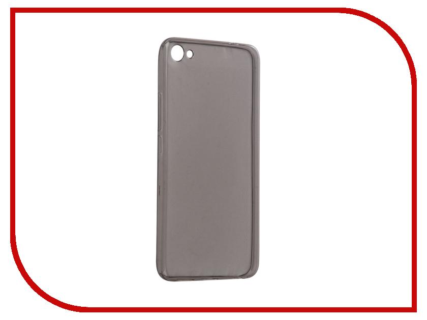 Аксессуар Чехол Meizu U20 Snoogy Creative Silicone 0.3mm Black u20 20 3 silicone case