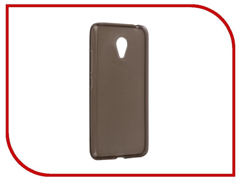 Аксессуар Чехол Meizu M3s/M3 mini/Meilan 3 Snoogy Creative Silicone 0.3mm Black meizu m3 max meilan