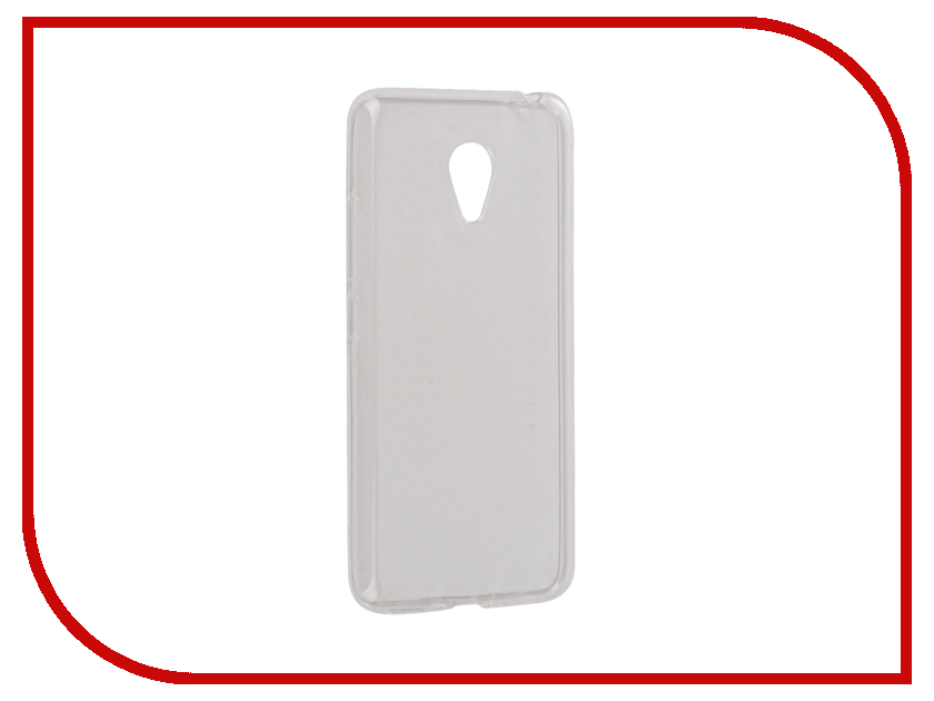 Аксессуар Чехол Meizu M3s/M3 mini/Meilan 3 Snoogy Creative Silicone 0.3mm White аксессуар чехол meizu m3s m3 mini meilan 3 cojess book case new black