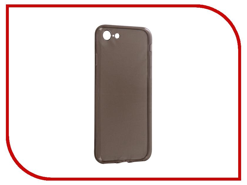 купить Аксессуар Чехол Snoogy Creative Silicone 0.3mm для APPLE iPhone 7 Black недорого