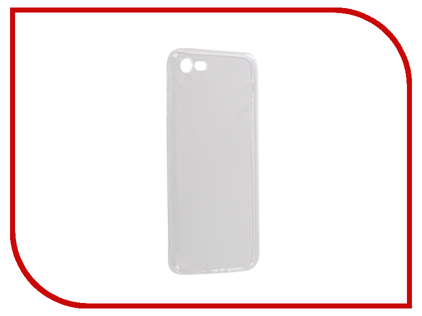 купить Аксессуар Чехол Snoogy Creative Silicone 0.3mm для APPLE iPhone 7 White недорого