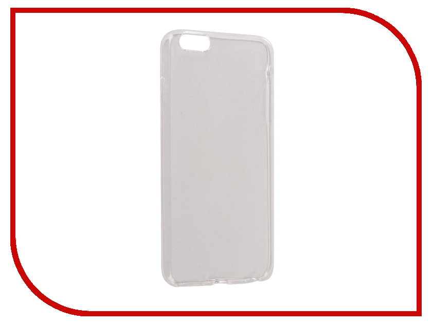 все цены на Аксессуар Чехол Snoogy Creative Silicone 0.3mm для APPLE iPhone 6 Plus White онлайн