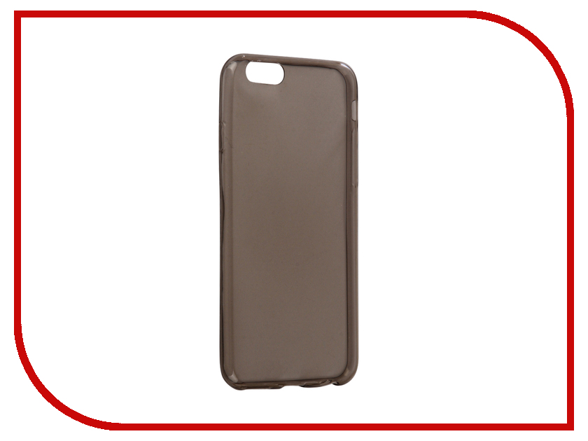 купить Аксессуар Чехол Snoogy Creative Silicone 0.3mm для APPLE iPhone 6 4.7 Black недорого