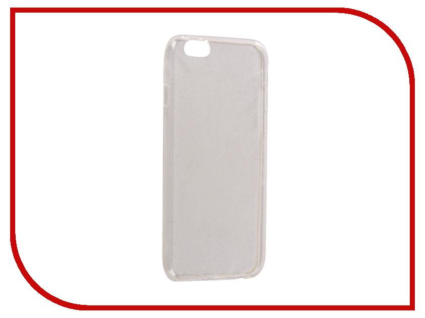 Аксессуар Чехол Snoogy Creative Silicone 0.3mm для APPLE iPhone 6 4.7 White