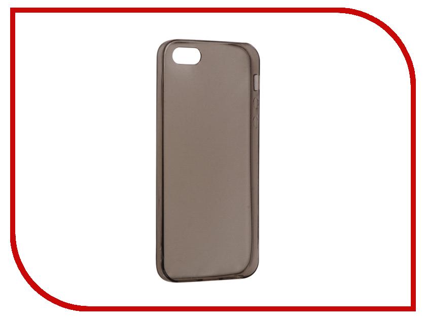 купить Аксессуар Чехол Snoogy Creative Silicone 0.3mm для APPLE iPhone 5 Black недорого
