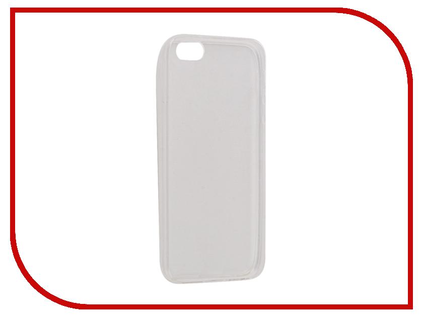 купить Аксессуар Чехол Snoogy Creative Silicone 0.3mm для APPLE iPhone 5 White недорого