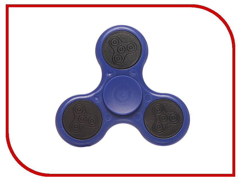 Спиннер Activ Hand Spinner 3-лопасти Hs03 Luminous Blue 73204